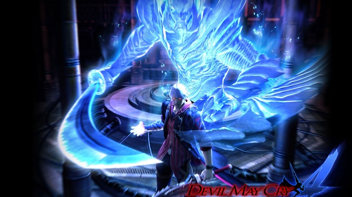 Devil May Cry, Nero character, video games, Devil Trigger, Devil May Cry 4