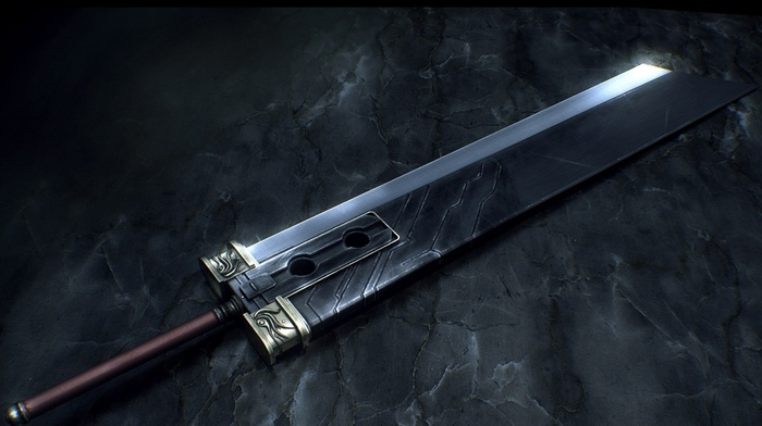 buster sword, Final Fantasy, Final Fantasy VII