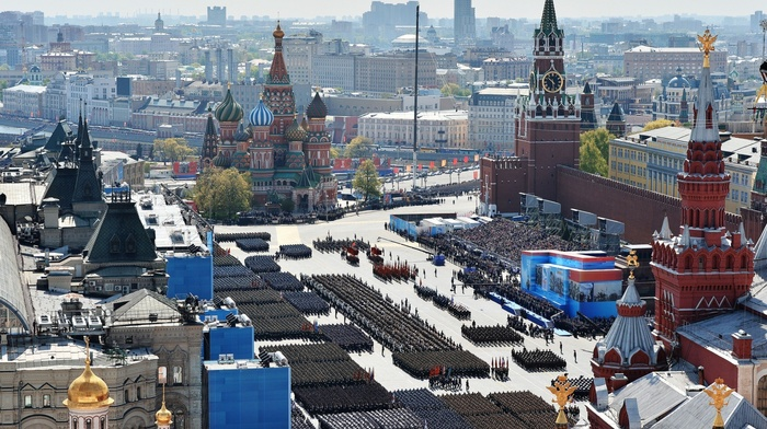 Victory Day, Russia, military, Moscow, parade
