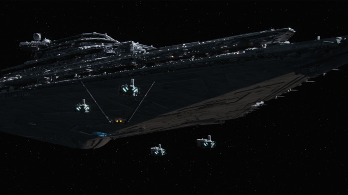 Star Wars, science fiction, Star Wars Episode VII, The Force Awakens, Star Destroyer