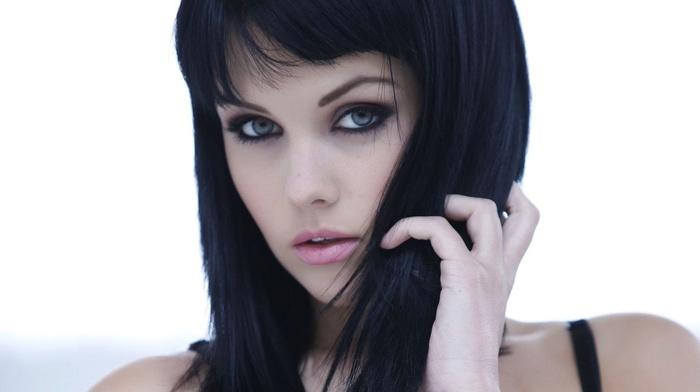 Melissa Clarke, portrait, girl, model, face