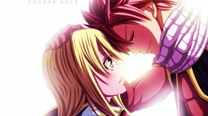 Dragneel Natsu Heartfilia Lucy Anime Fairy Tail Download Wallpaper