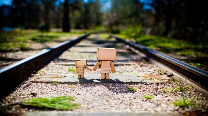 nature, railway, Danbo