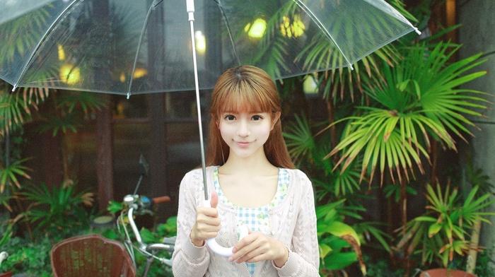 girl, model, Yurisa Chan, Korean