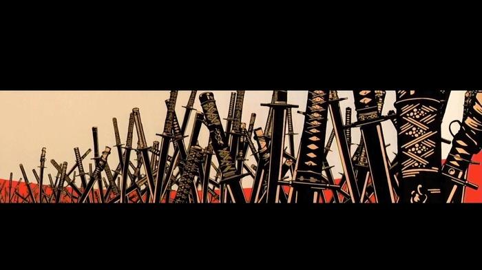 samurai, sword, katana
