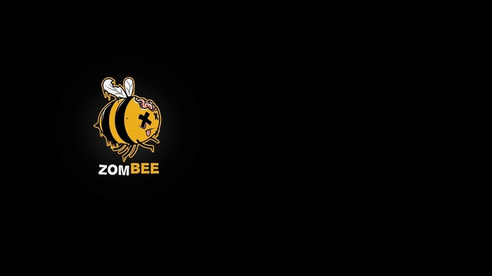 bees, zombies, humor