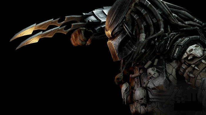 Alien Vs Predator Skull Video Games Download Wallpaper