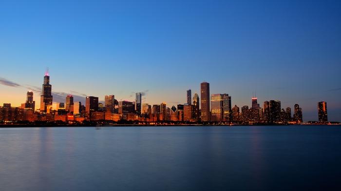 Chicago, skyscraper, cityscape, USA, city