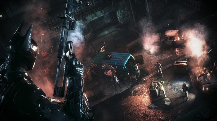 Batman Arkham Knight, Gotham City, video games, Batman
