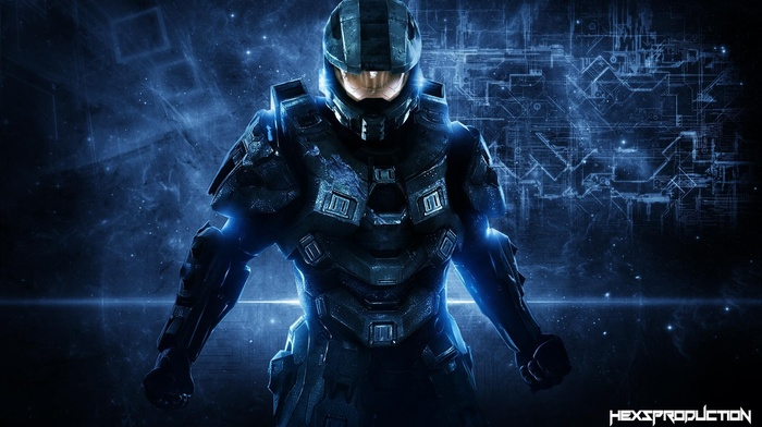 Master Chief, video games, halo 4, Halo, Spartans