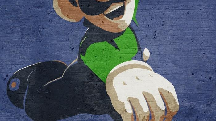 video games, Luigi