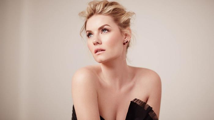 Elisha Cuthbert, girl, celebrity, actress, simple, looking up, blonde