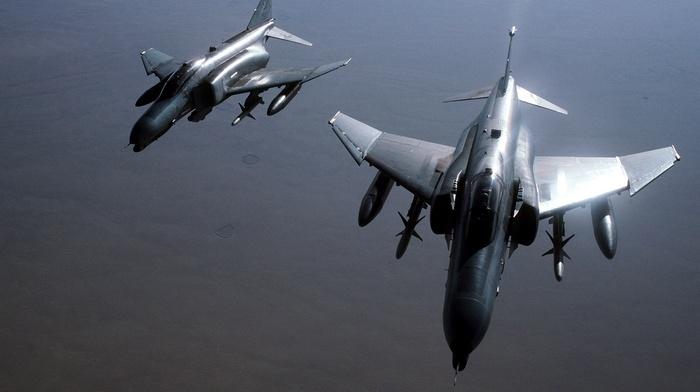 military, airplane, f, 4 Phantom II, air force
