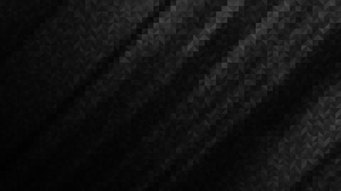 geometry, black, minimalism, lines, triangle, gray, digital art, monochrome