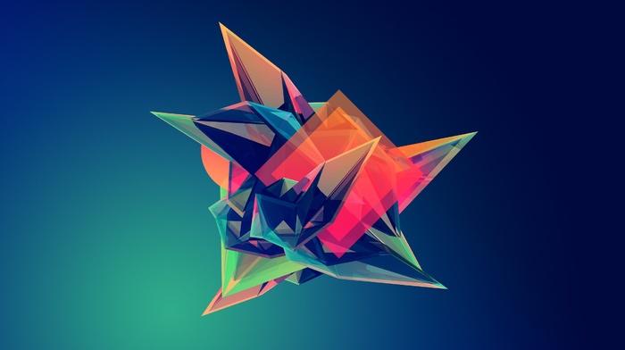 facets, Justin Maller, geometry, digital art