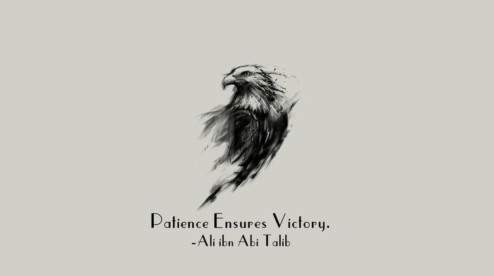 motivational, Islam, quote, Imam, Ali ibn Abi Talib, eagle