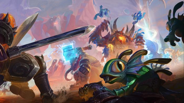 Thrall, Murky, battle, Murlocs, heroes of the storm