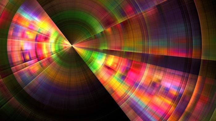 colorful, circle, minimalism, lines, abstract, crop circles, CGI, digital art
