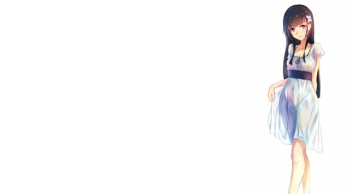 anime girls, Sankarea, Sanka Rea, simple background