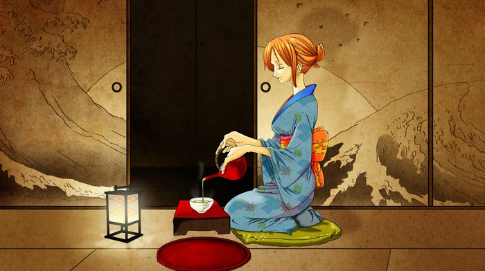 Nami, anime, One Piece