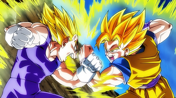 Vegeta, Dragon Ball, Son Goku, Super Saiyan