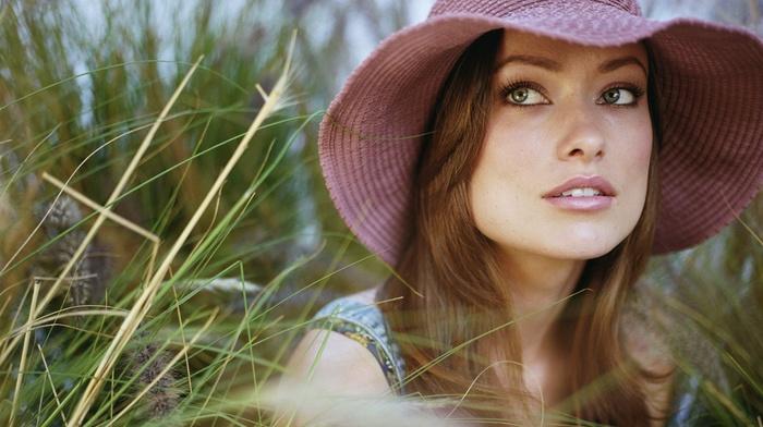 girl, brunette, actress, face, Olivia Wilde, celebrity