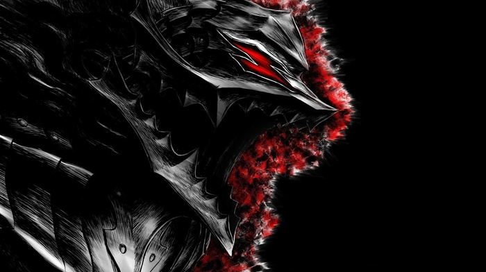 Kentaro Miura, digital art, Guts, artwork, Berserk