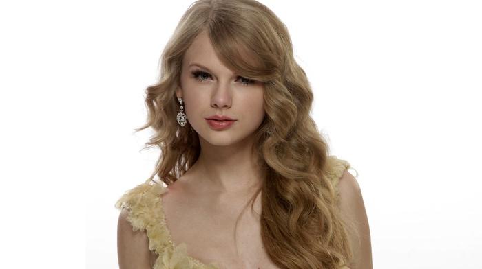 Taylor Swift, singer, celebrity, simple background, girl