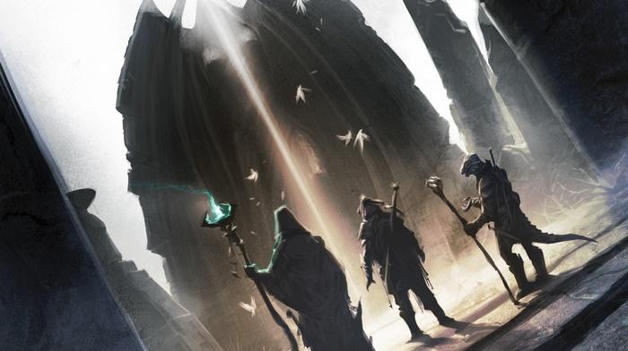 The Elder Scrolls, fantasy art, the elder scrolls online