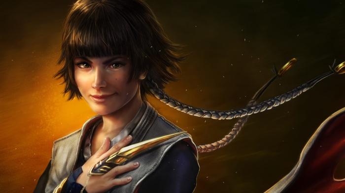 fantasy art, anime girls, Sui, Feng, artwork, Bleach