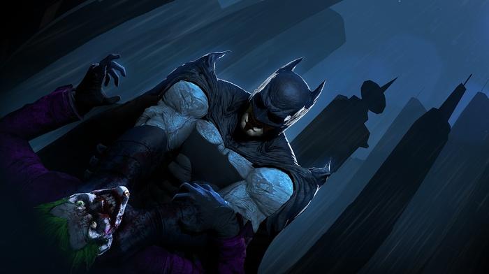 Batman, DC Comics, Gotham City, Joker