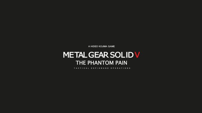 video games, simple, Solid Snake, Kojima Productions, minimalism, Metal Gear Solid V The Phantom Pain, Big Boss