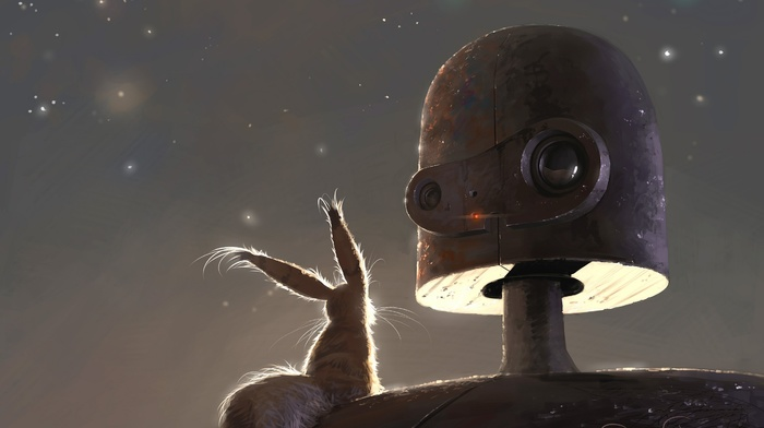artwork, anime, Studio Ghibli, robot, Castle in the Sky