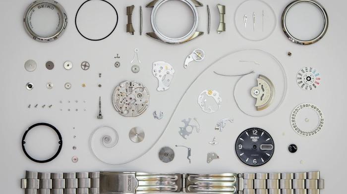 luxury watches, screw, dials, Seiko, metal, spring, elements, numbers, bracelets, clockworks, gears, watch, clockwork