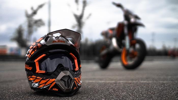 helmet, Canon, KTM, motorcycle, supermoto