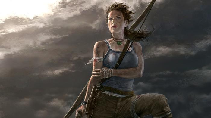 artwork, video game girls, video games, video game characters, Lara Croft, Tomb Raider, fan art