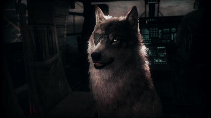 Solid Snake, wolf, Metal Gear, Big Boss, Diamond Dog, Metal Gear Solid, D, dog