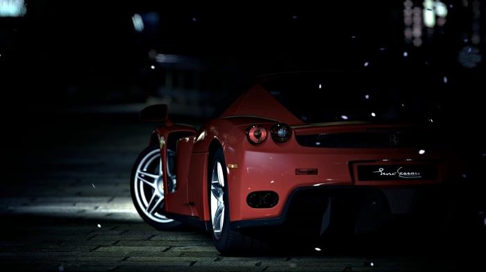 Ferrari Enzo, Enzo Ferrari, video games, Gran Turismo 5, car, Ferrari