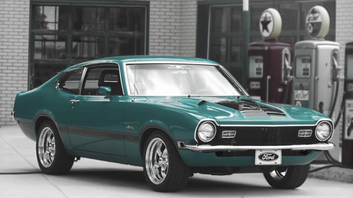 old car, luxury cars, Ford Maverick, car