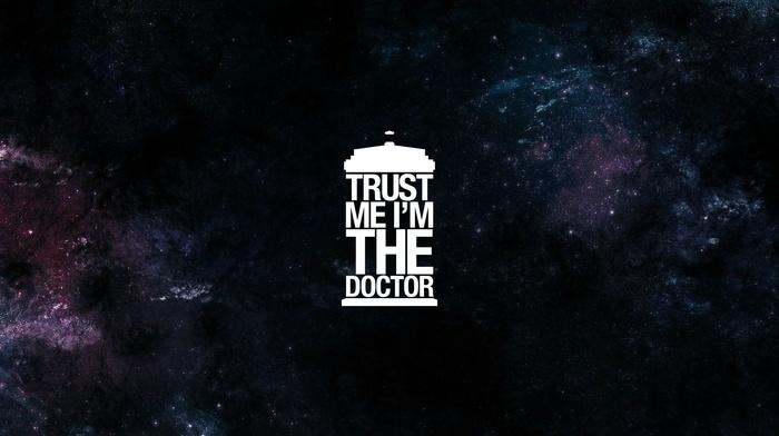 The Doctor, minimalism, tardis, Doctor Who