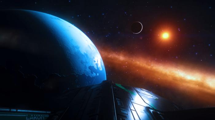 science fiction, space, video games, Elite Dangerous