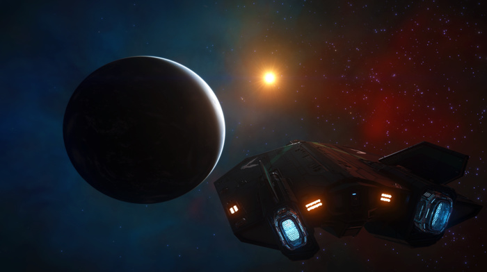science fiction, Elite Dangerous, space, video games