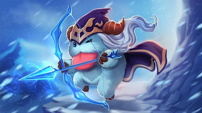 Ashe, Poro, League of Legends