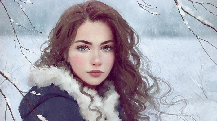 Selenada, Vexel, Winter on the Way, vectors