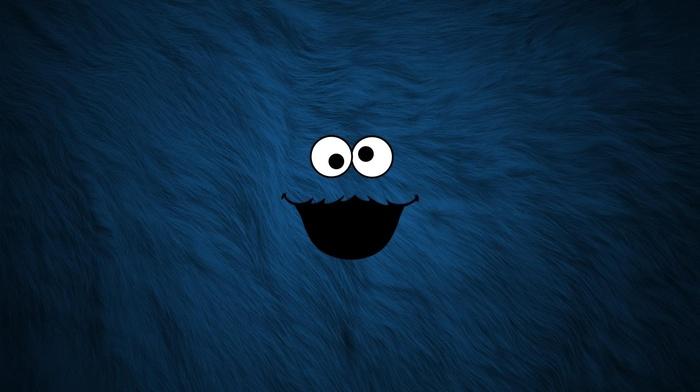 fur, blue, Cookie Monster