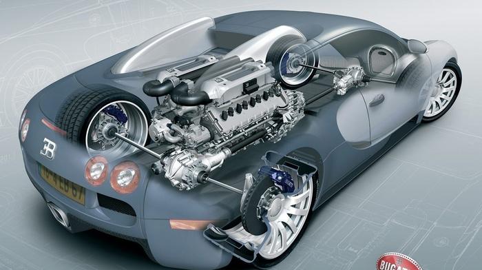 Bugatti, Bugatti Veyron 16.4 Super Sport, engines, Bugatti Veyron, 3d object, sports car, car, vehicle, render, sketches, technology, wheels, brakes