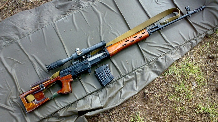Dragunov Gun SVD Rifles Sniper Rifle Download Wallpaper