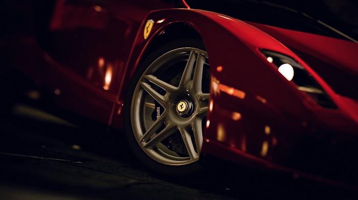 tires, Gran Turismo 5, car, rims, Ferrari Enzo, video games