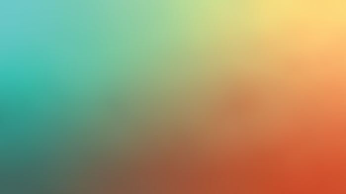 orange, cyan, simple, gradient