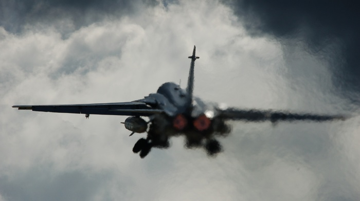 take, off, f, 111 Aardvark, jets, sky, aircraft, military aircraft